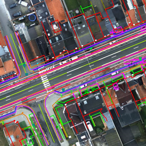 3D Mapping Haighways, Belgium