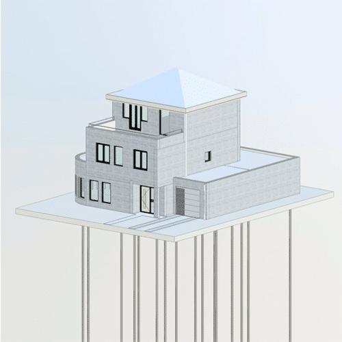 Peter Jun House Reverse Extension / Renovation, Amstelveen